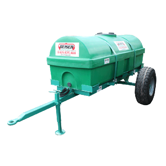 Neuer verstärkter PEHD-Tank auf Gestell 1700 Liter EP