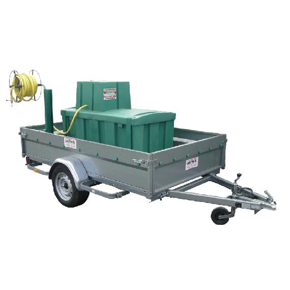 Wassertank 500 L auf Anhänger