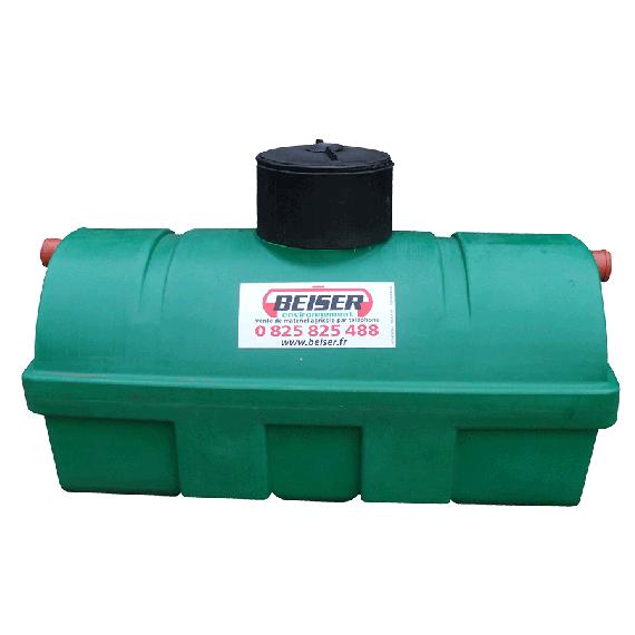 Klärgrube 1200 Liter für alle Gewässer