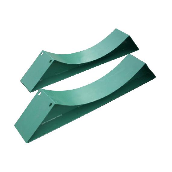 Sattelfüße für Tank aus Metall, Ø 1900mm