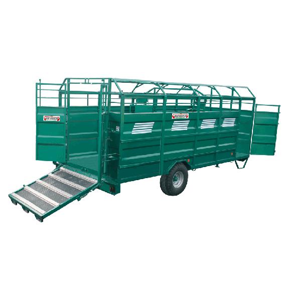Vollstahl-Viehtransporter SCHWERES Modell, Länge 3,70 m; keine Option
