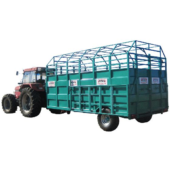 Viehtransporter ganz aus Stahl, schweres Modell, 4.50m, ohne Option