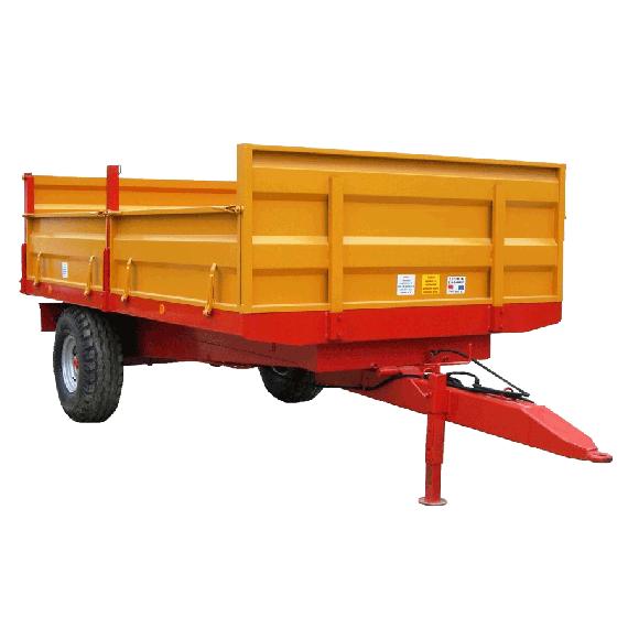 Wagenkasten mit Bordwänden 6 Tonnen