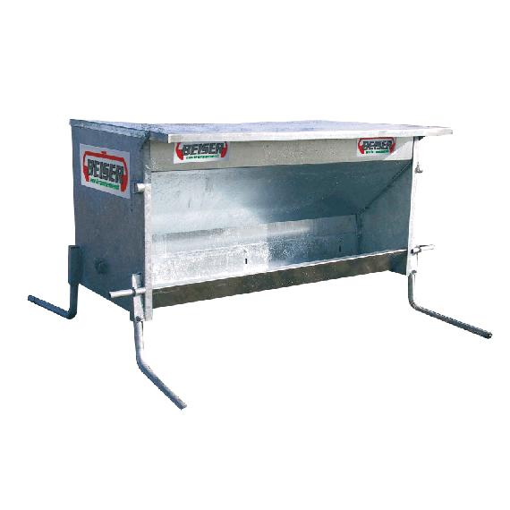 Verzinkt Futterautomat für Großrinder, 1050 L