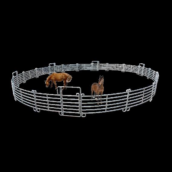Round Lanyard für Pferde 6 Türen (Ø 20 m) + Transport-Kit