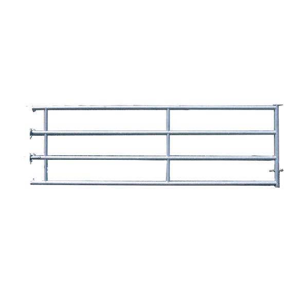 Stallabtrennung mit 4 Sprossen hinten 2,50 m (3/4)