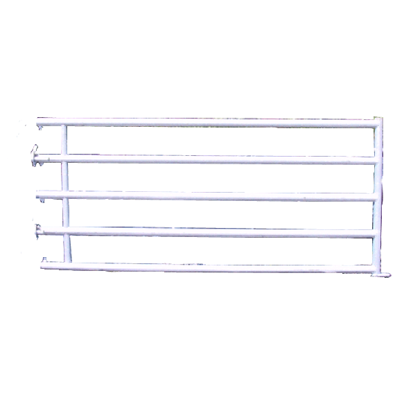 Stallabtrennung mit 5 Sprossen hinten 2,50 m (3/4)
