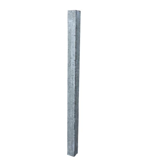 Einbauhülse 80 x 80, 2 m, für Kälber-Selbstfangfressgitter