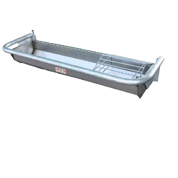 Kippbare Tränke aus rostfreiem Stahl, Mit Schwimmer