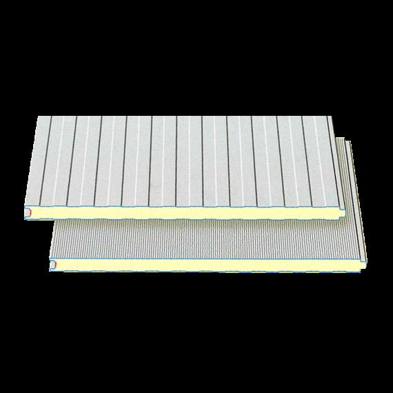 Weißes Verkleidungs-Sandwichblech, Dicke 40 mm, 2,5 m