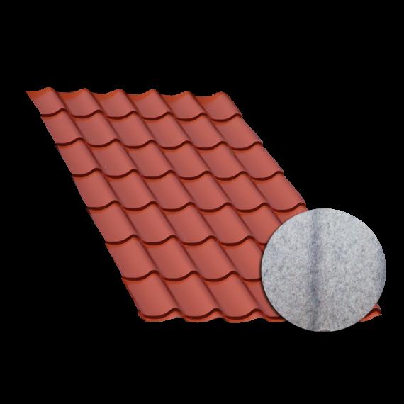 Terrakotta Ziegelblechelement, Konsenswasserschutz, 3,5 m