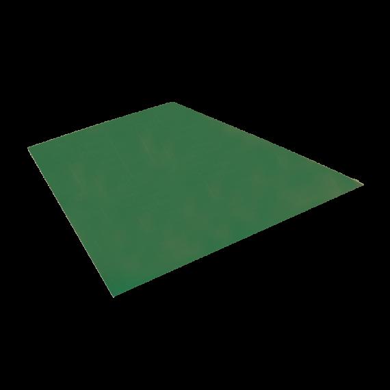 Flachblech, Reseda-Grün RAL6011, 1,22x2 m