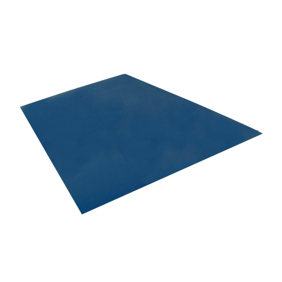 Flachblech, Schieferblau RAL5008, 1,22x2 m