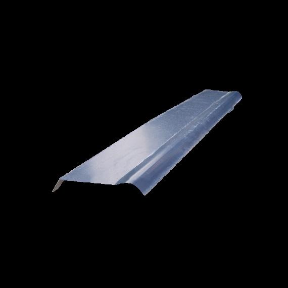 Halber gebogener Firsthaube Schieferblau RAL5008