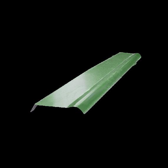 Halber gebogener Firsthaube Reseda-Grün RAL6011