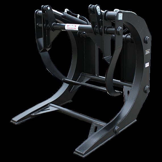 Holzgreifer für Teleskopbagger