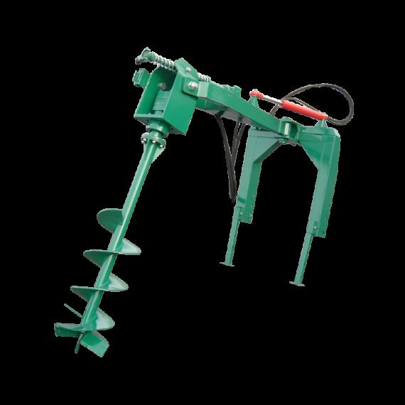 Hydraulischer Dreipunkt-Bohrer