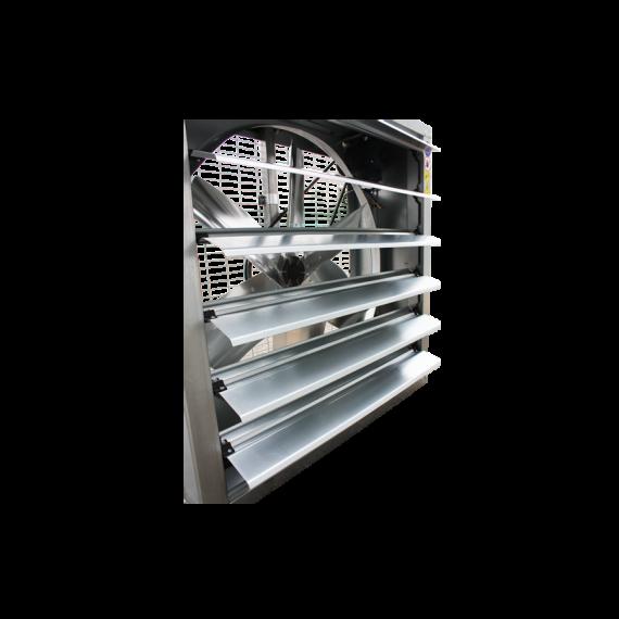 Großvolumen-Ventilator 138 cm X 138 cm X 40 cm