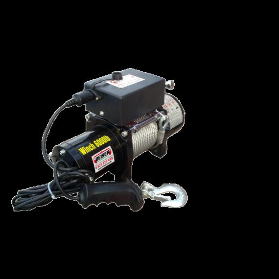 Elektroseilwinde 12V LD 6000 (2,7 Tonnen) + Fernsteuerung