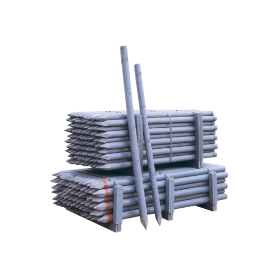 Recycelter PVC-Zaunpflock Ø 60 mm1,50 m