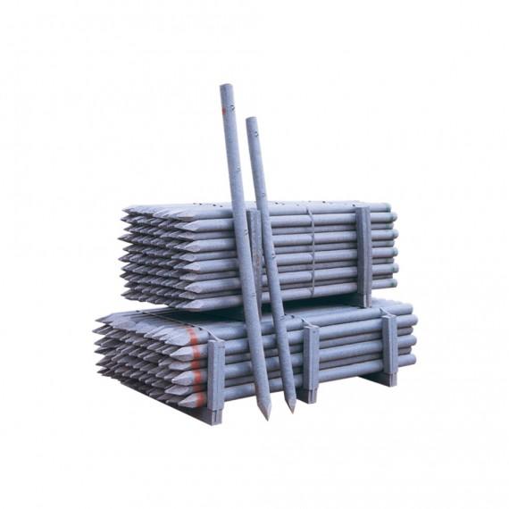 Recycelter PVC-Zaunpflock Ø 45 mm 1.75 m