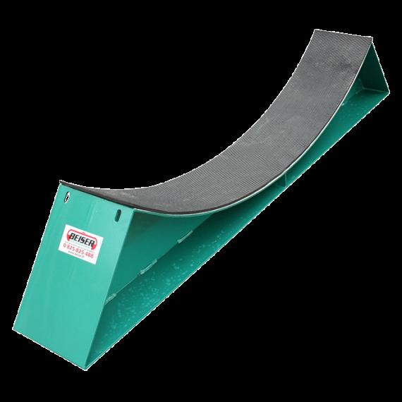 Strukturierte Gummimatte auf Rahmen durchmesser 1.25M