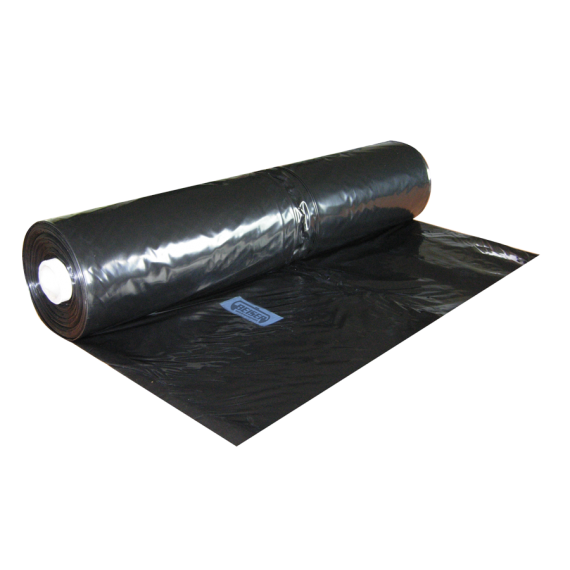 Schwarze Silage-Kunststoffplane 12 m (150 Mikron/348 m2)