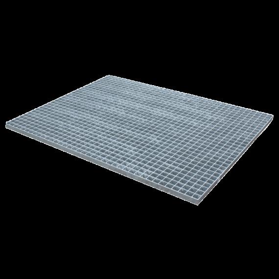 Gepresstes und verzinktes Gitterrost - 1250 x 1000 - Maschenweite 30 x 30 flacher Rand