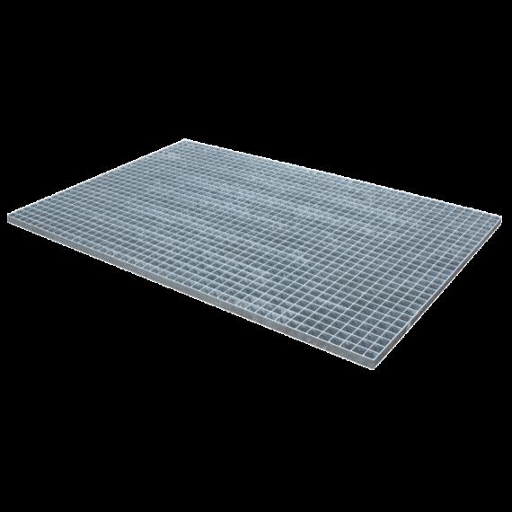 Gepresstes und verzinktes Gitterrost - 1500 x 1000 - Maschenweite 30 x 30 flacher Rand