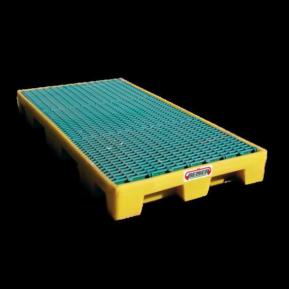 Quadratischer Auffangboden für Batterieen (115 x 1245 x 1245 mm)