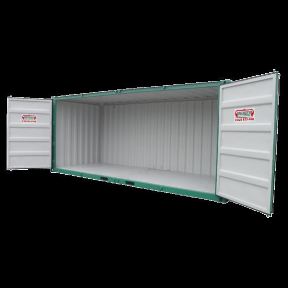 Lagercontainer - Modèle LC 20, 32m3 mit Seitenöffnung über die ganze Länge