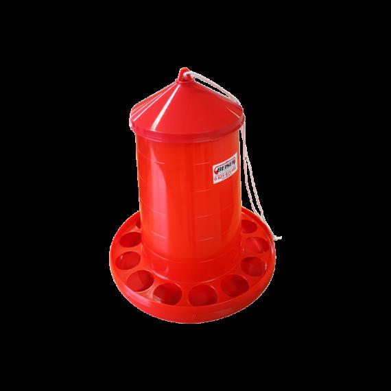 PVC-Futtertrog zum Aufhängen 16 kg