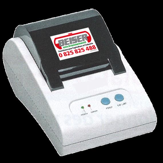Thermodrucker für Waagen mit RS232 Anschluss