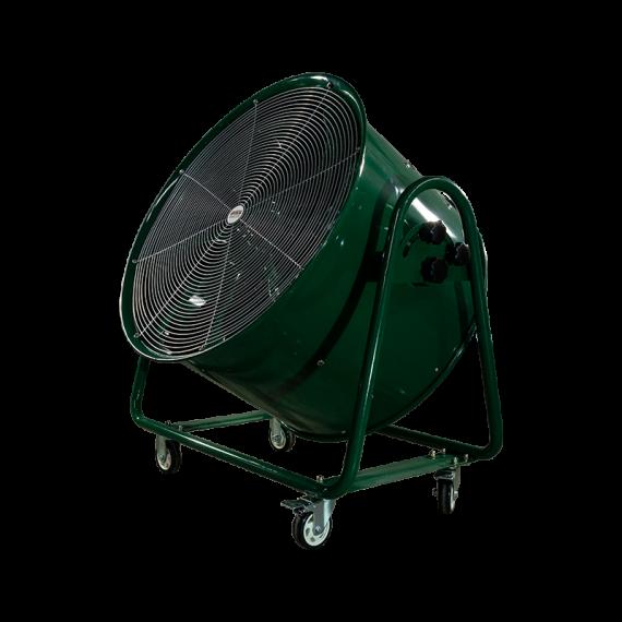 Abluftventilator mobil auf Räder Ø 800 mm