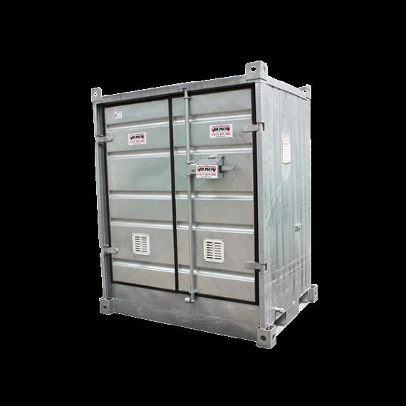 """Isoliertier lagercontainer """"sicherheit + """", Low, 1 Palette"""