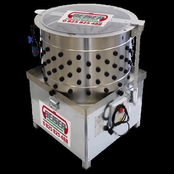 Automatische Rupfmaschine DIT65 (65 cm x 65 cm x 95 cm)