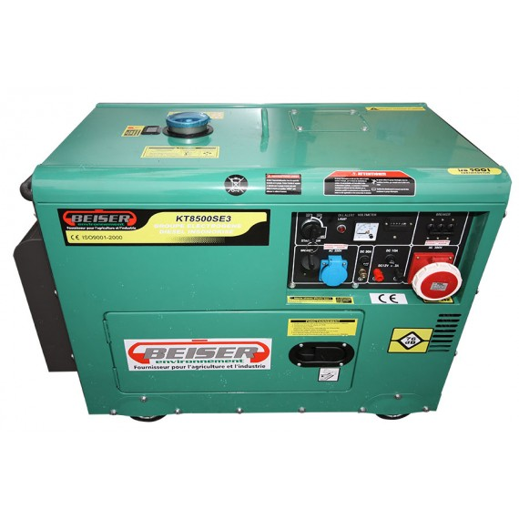 Diesel-Stromerzeuger 7 kW SCHALLDICHT (ER8LDE)