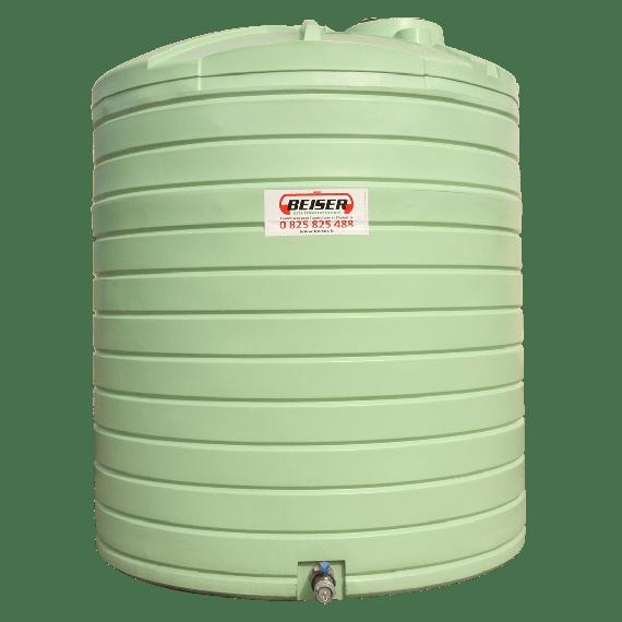 Senkrechter Polyestertank Wasserbehälter 7500L