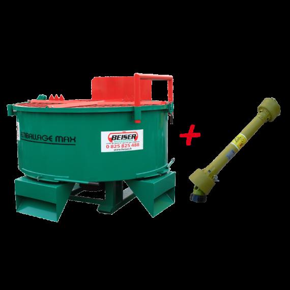 Mischmaschiner 1600L - 3 Ausgänge - Mit Gehäuse
