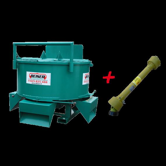 KIT für Bauarbeiten Milscher 800L + Zapfwelle