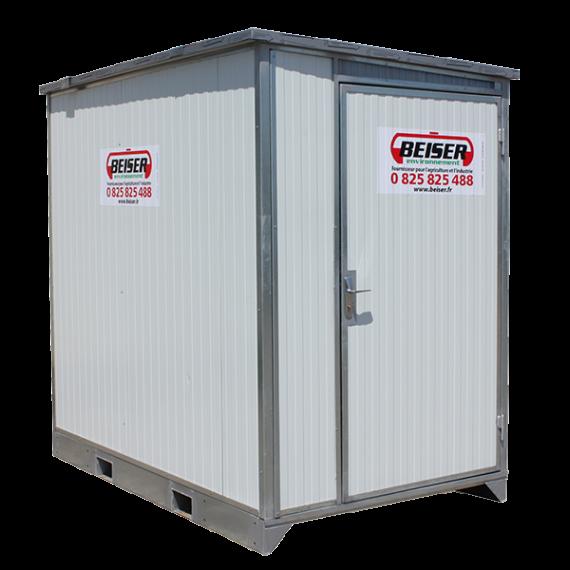 Mobiler Schleusencontainer als Bausatz 8m3