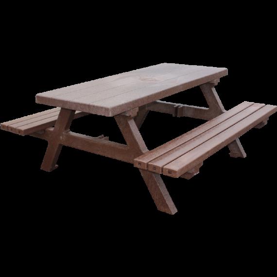 Picknicktisch aus Recyceltem plastik (1,8m)