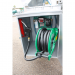 Beiser Environnement - Station citerne fuel industrielle galvanisée avec enrouleur sécurisée 1600L