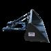 Beiser Environnement  - Hydraulische Kippschaufel 1,80 m mit Gabelstaplertaschen