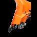 Schneepflug 3 Betriebsstellungen auf Rädern und Federn