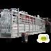 Beiser Environnement - Automatisierter fangflur 10,50 m mit hydraulischem Achsen-Hebesystem und Wiegekäfig
