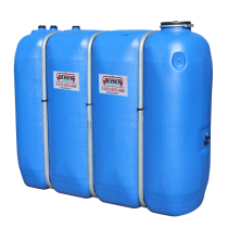 Citerne en plastique PEHD rectangulaire alimentaire 2 000 litres