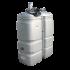"""Beiser Environnement - Station citerne fuel double paroi en plastique PEHD sans odeur, 1000 litres, pompe 12V avec limiteur de remplissage 2"""""""