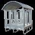Beiser Environnement - Râtelier spécial chevaux 2 x 2 m