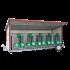 Beiser Environnement - Box à veaux 2 ou 4 places avec toit isolé et parois PVC - Côté